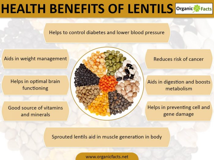 health benefits of lentil