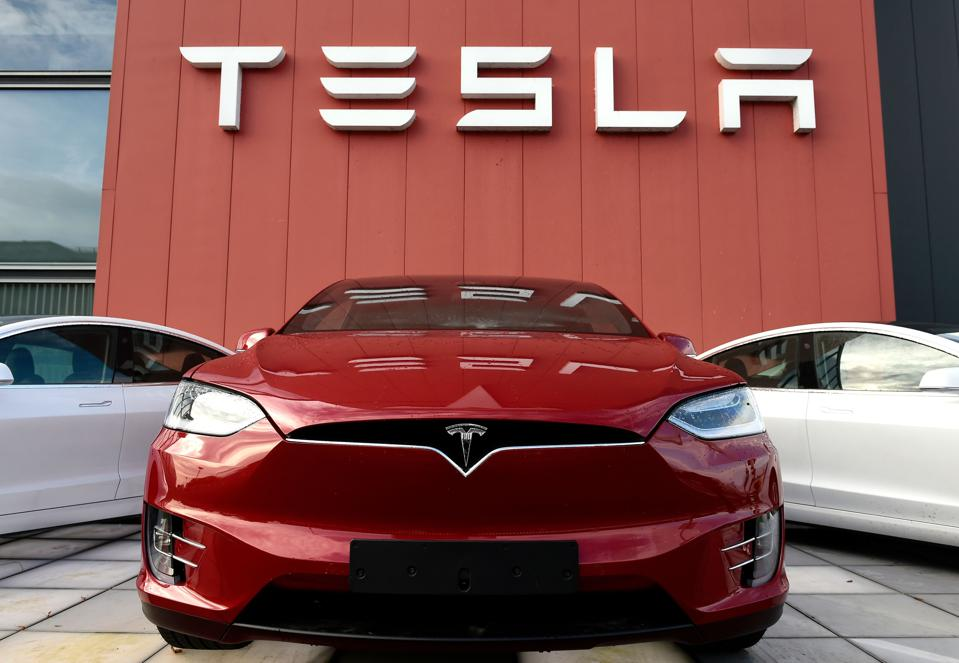Tesla the largest electric car maker in the world